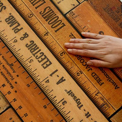 【切売】輸入壁紙 NLXL LAB PRINTED RULERS WALLPAPER BY MR & MRS VINTAGE /MRV-05 Small