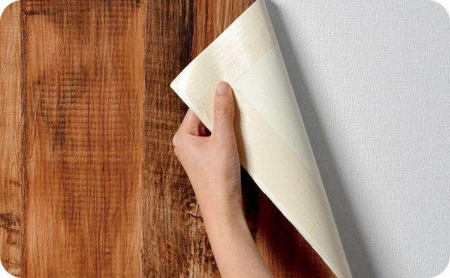 のりなし壁紙 はがせる施工方法選べる