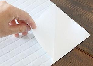 シール壁紙の貼り方1