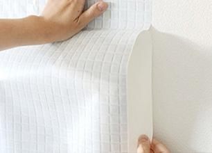 シール壁紙の貼り方2