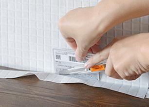 シール壁紙の貼り方3