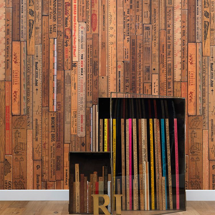 輸入壁紙 NLXL LAB PRINTED RULERS WALLPAPER BY MR & MRS VINTAGE /MRV-05 Small