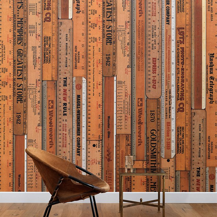 輸入壁紙 NLXL LAB PRINTED RULERS WALLPAPER BY MR & MRS VINTAGE /MRV-06 Large