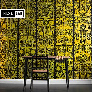 輸入壁紙 NLXL LAB ROBBER BARON WALLPAPER BY STUDIO JOB / JOB-09