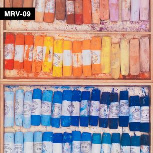 【切売】輸入壁紙 NLXL LAB Mr & Mrs Vintage Colored Chalk Wallpaper / MRV-09