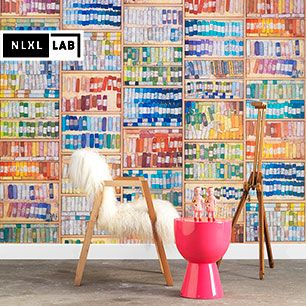 輸入壁紙 NLXL LAB COLORED CHALK WALLPAPER BY MR & MRS VINTAGE / MRV-09