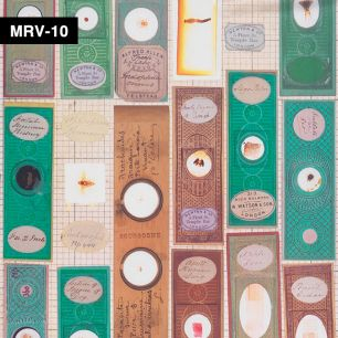 【切売】輸入壁紙 NLXL LAB Mr & Mrs Vintage Microscopic Slides Wallpaper / MRV-10