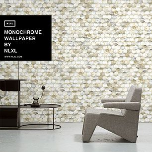 輸入壁紙 NLXL MONOCHROME WALLPAPER BEEHIVE WALLPAPER BY MR & MRS VINTAGE / MRV-14