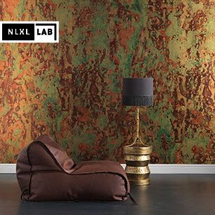 輸入壁紙 NLXL LAB SPOILED COPPER METALLIC WALLPAPER BY PEIT HEIN EEK / PHC-02
