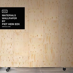 輸入壁紙 NLXL MATERIALS WALLPAPER BY PIET HEIN EEK PLYWOOD WALLPAPER / PHM-37