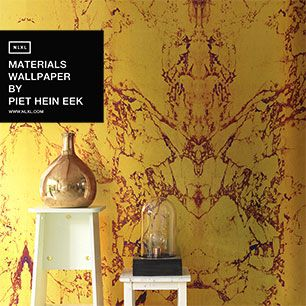 輸入壁紙 NLXL MATERIALS WALLPAPER BY PIET HEIN EEK GOLD MARBLE WALLPAPER / PHM-80&PHM-81 【2本セット】