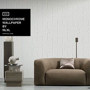輸入壁紙 NLXL MONOCHROME WALLPAPER ORNAMENT WALLPAPER BY PIET BOON / PIB-12