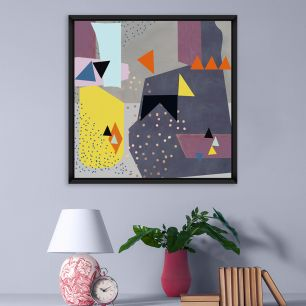 MINDTHEGAP WALL ART / Abstract Triangles I FA11552