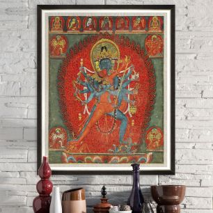 MINDTHEGAP WALL ART / INDIAN GODDESS FA13131