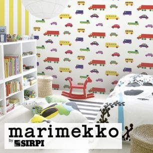 輸入壁紙 marimekko(マリメッコ) Wallcoverings 5 / BO BOO Multi color 23370