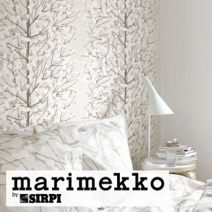 輸入壁紙 marimekko(マリメッコ) Wallcoverings 5 / Lumimarja GreyWhite 23376