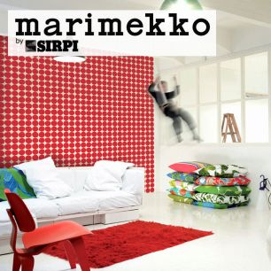 輸入壁紙 marimekko(マリメッコ) Wallcoverings 5 / PIENET KIVET Red 23381
