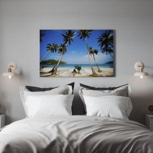 オーダーアートパネル PHOTOWALL / Coconut Palms, Thailand (e19167)