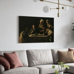 オーダーアートパネル PHOTOWALL / Supper at Emmaus - Michelangelo Caravaggio (e2100)