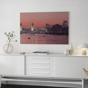 オーダーアートパネル PHOTOWALL / London Skyline in Sunset (e20913)