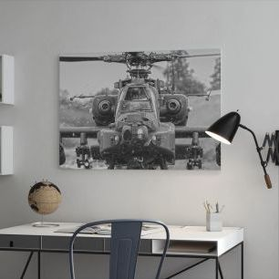 オーダーアートパネル PHOTOWALL / Apache Helicopter (e23163)