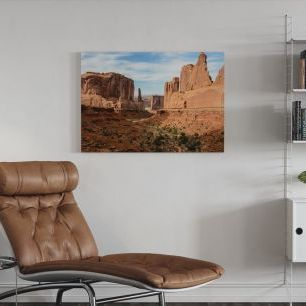 オーダーアートパネル PHOTOWALL / Park Avenue, Arches National Park (e24798)