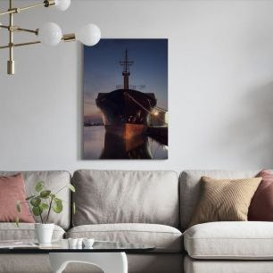 オーダーアートパネル PHOTOWALL / Ship in Eastern Harbor, Malm? Sweden (e40567)