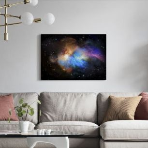 オーダーアートパネル PHOTOWALL / Multicolored Nebula (e316147)