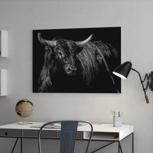 オーダーアートパネル PHOTOWALL / Brindle Rodeo Bull (e320238)