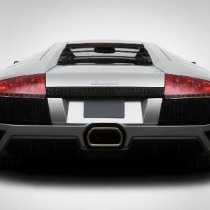輸入壁紙 カスタム壁紙 PHOTOWALL / Lamborghini from Behind (e6383)