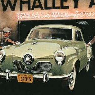 輸入壁紙 カスタム壁紙 PHOTOWALL / Studebaker Commander (e12057)