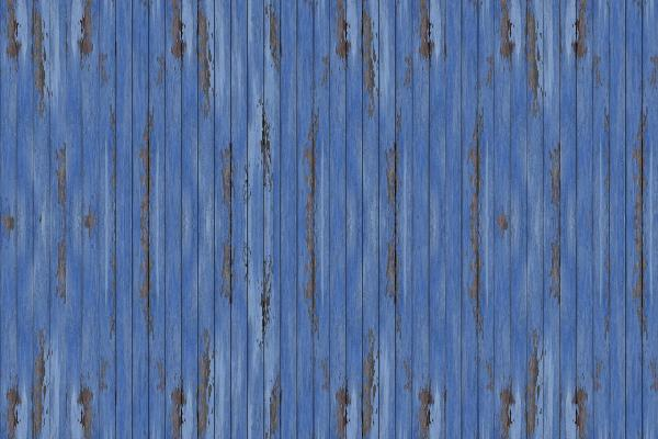 輸入壁紙 カスタム壁紙 PHOTOWALL / Blue Vintage Wood Wall (e20941)