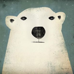 輸入壁紙 カスタム壁紙 PHOTOWALL / Ryan Fowler - Polar Bear (e22287)