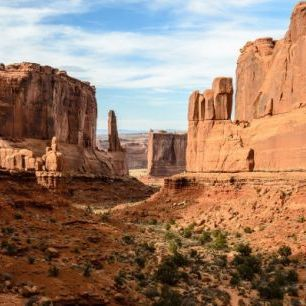 輸入壁紙 カスタム壁紙 PHOTOWALL / Park Avenue, Arches National Park (e24798)
