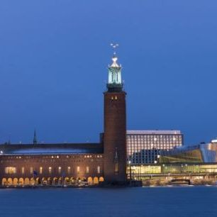 輸入壁紙 カスタム壁紙 PHOTOWALL / Stockholm City Hall (e29963)
