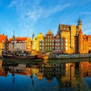 輸入壁紙 カスタム壁紙 PHOTOWALL / Riverside of Gdansk (e40680)