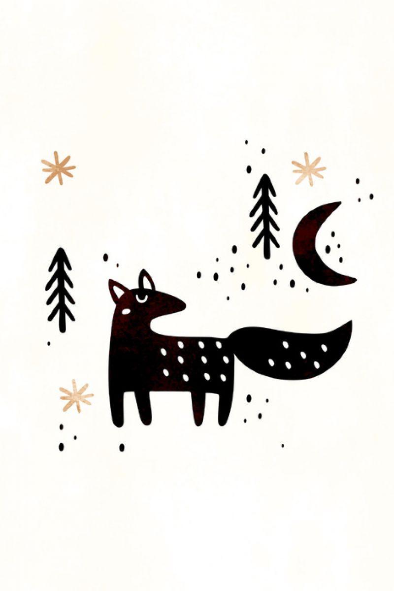 輸入壁紙 カスタム壁紙 Photowall Little Winter Fox 壁紙屋本舗