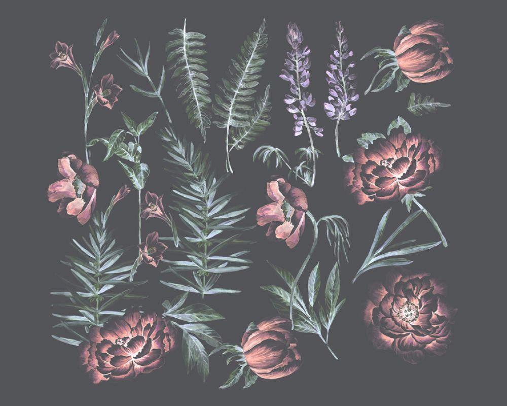 輸入壁紙 カスタム壁紙 Photowall Flower And Plants Harmony
