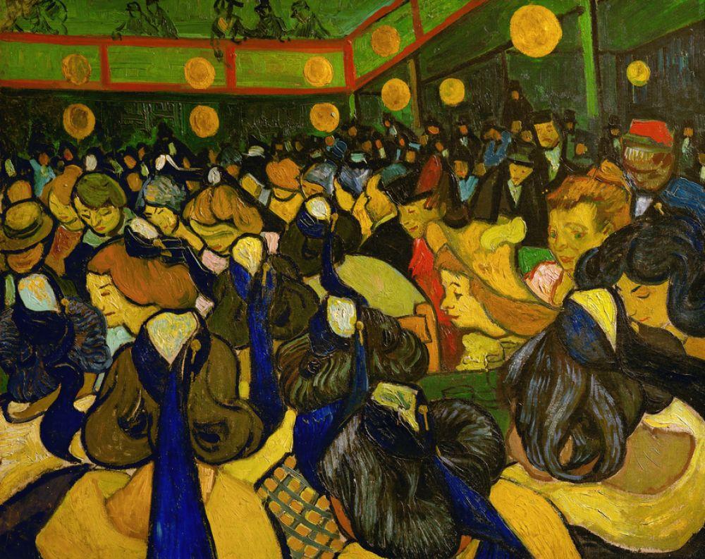 輸入壁紙 カスタム壁紙 Photowall Dance Hall Vincent Van Gogh