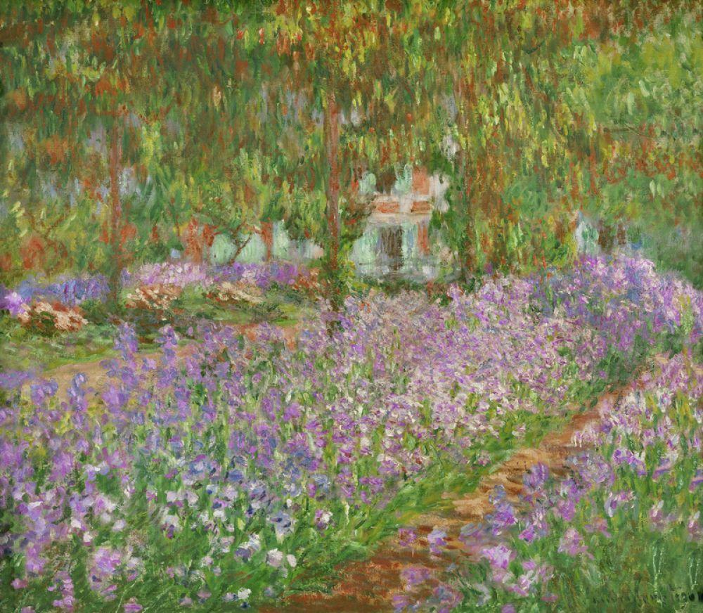 輸入壁紙 カスタム壁紙 Photowall Garden At Giverny Claude Monet
