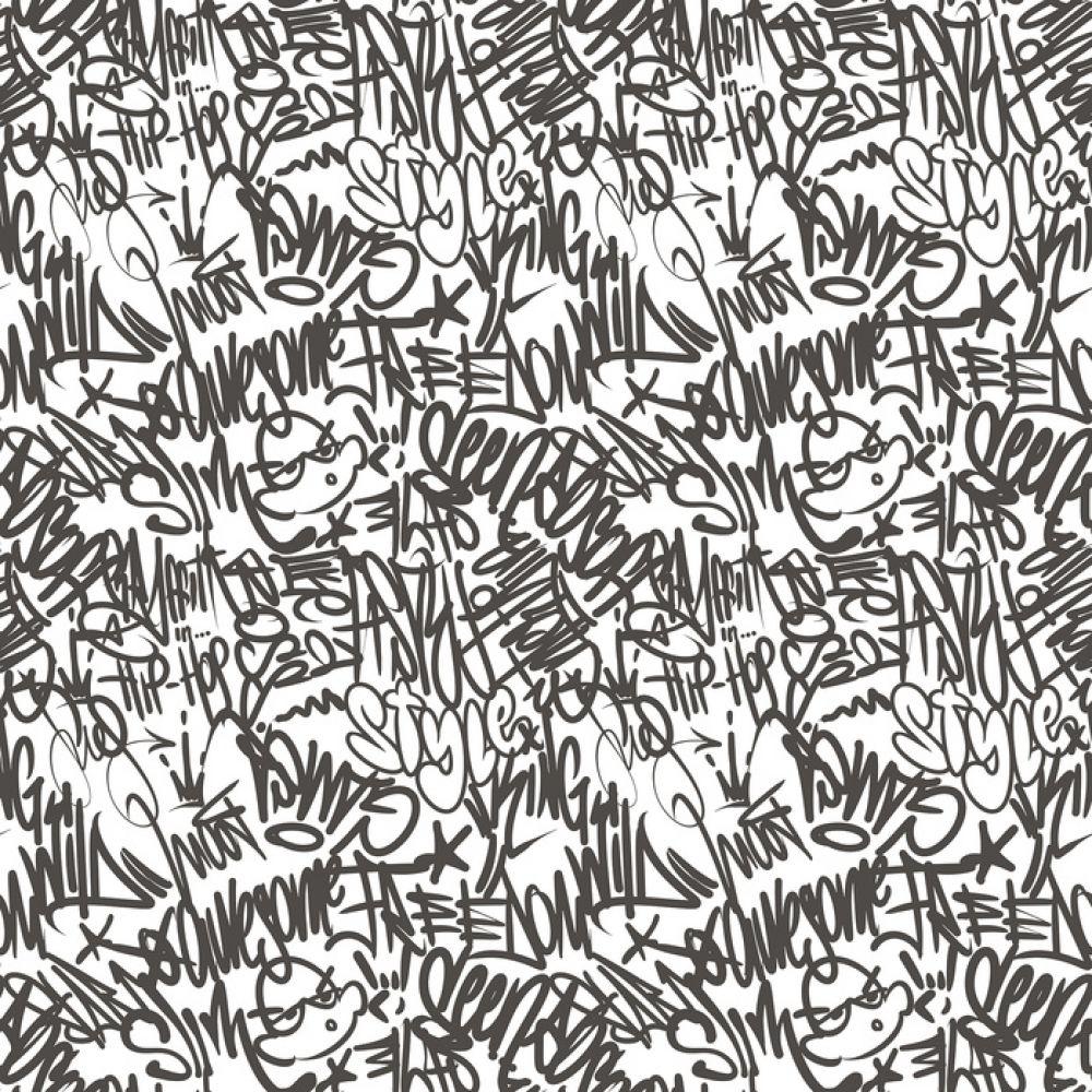 輸入壁紙 カスタム壁紙 Photowall Calligraphy Graffiti 129 壁紙屋本舗