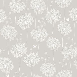 【サンプル】はがせる 壁紙 シール 「NUWALLPAPER」 Dandelion Taupe Peel And Stick WALLPAPER / NU1651