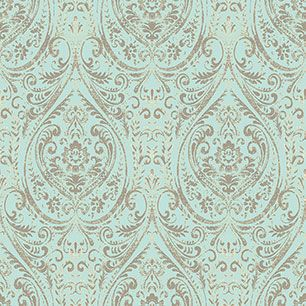 【サンプル】はがせる 壁紙 シール 「NUWALLPAPER」 Nomad Damask Peel and Stick WALLPAPER / NU2079
