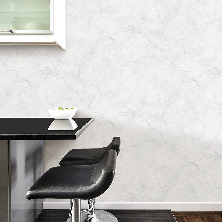 はがせる 壁紙 シール 「NUWALLPAPER」 Carrara Marble Peel and Stick Wallpaper / NU2090