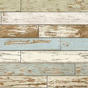 【サンプル】はがせる 壁紙 シール 「NUWALLPAPER」 Old Salem Vintage Wood Peel and Stick WALLPAPER / NU2188