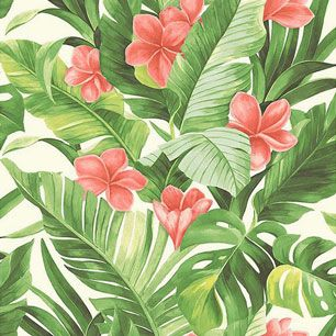 【サンプル】はがせる 壁紙 シール 「NUWALLPAPER」 Tropical Paradise Peel and Stick Wallpaper / NU2926