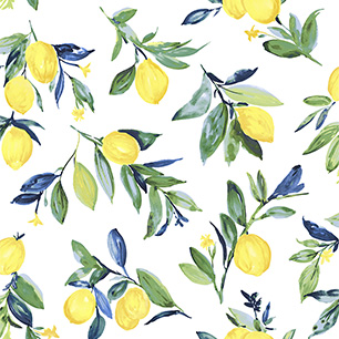 【サンプル】はがせる 壁紙 シール 「NUWALLPAPER」 Lemon Drop Yellow Peel and Stick Wallpaper / NUS3161