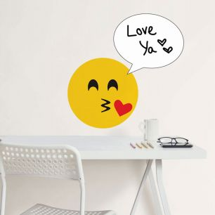 WALL POPS! / ウォールポップス Create an Emoji Dry Erase Wall Decals / WPE2195
