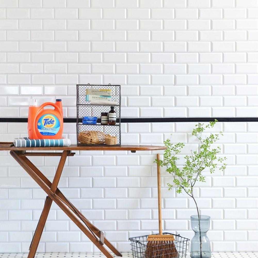 サブウェイタイル メトロタイル のシンプルな魅力 タイル柄のアイテムまとめ 壁紙屋本舗
