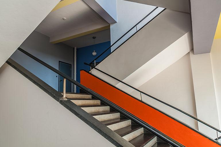 バウハウス・デッサウ校舎の階段
